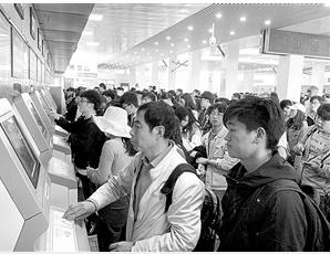 春运进行时!云南26个车站可刷身份证进站