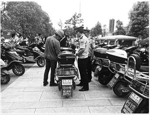 五华警方打掉一批电动车盗窃团伙 缴获涉案车119辆