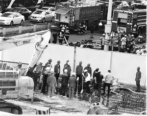 大批救援人员参与现场处置