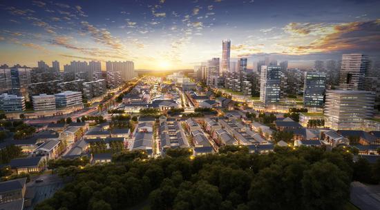 昆明呈贡三台山片区城市更新