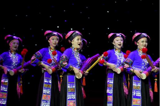 云南省第二届传统戏剧曲艺汇演在红河州蒙自市开幕