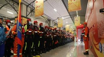 云南省首次地铁站点淹积水实战演练举行