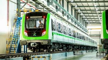 昆明地铁5号线世博车辆段建筑拟限高80