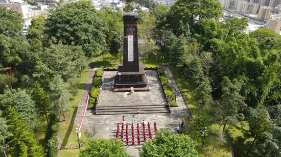 龙陵:缅怀革命先烈 传承红色精神 纪念抗日战争胜利76周年