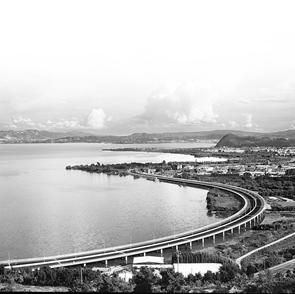 环湖路美景