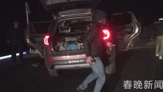 4年前,抓捕现场毒贩丢弃的汽车