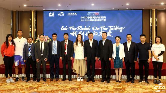 国内顶尖好手集体亮相!2020中国网球巡回赛安宁开战