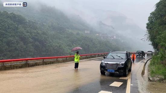 云南继续发布地质灾害气象风险II级预警 局地有大雾