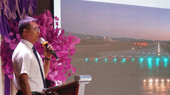 云南机场集团有限责任公司临沧机场作航空通行情况推介