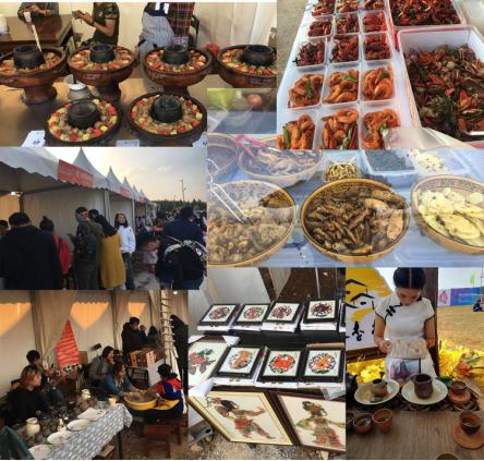 2018年风马音乐节 创意市集+美食