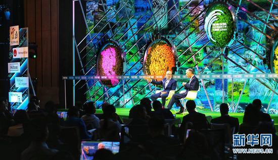 2019年《财富》全球可持续论坛在云南玉溪举行   张翼鹏 摄