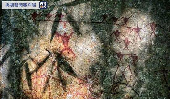 云南沧源崖画绝对年代为距今3800年至2700年之间