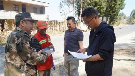 云南澄江:森林防火检查筑牢森林生态安全屏障