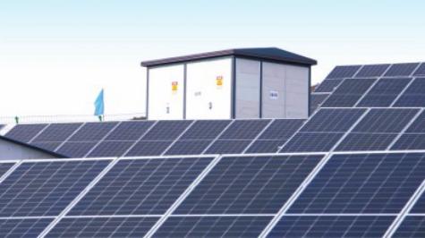 中信银行在甘肃省宕昌县援建的光伏电站项目