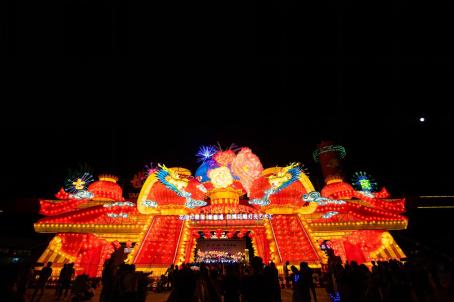 昆明世博园旅游区网红光影花神节