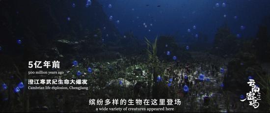寒武纪时期的澄江生物群