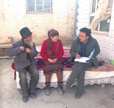 """中信银行在新疆阿克苏市开展的""""访惠聚""""项目"""