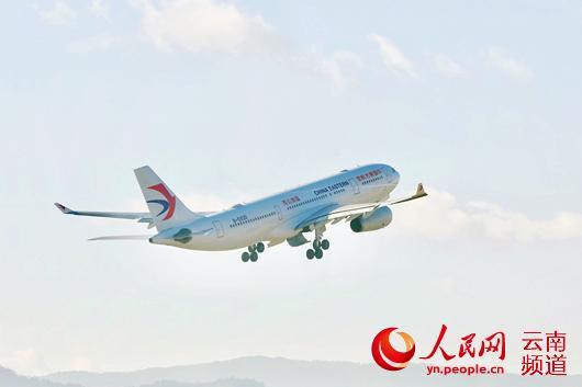 图为东航班机(资料图)