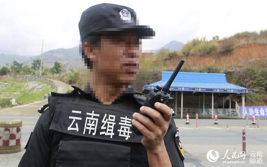 临沧市云县公安局警务站郑兴浩。(云南省公安厅供图)