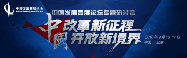 2018中国发展高层论坛专题研讨会