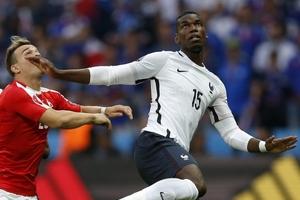 欧洲杯-博格巴帕耶3中楣法国平夺头名 瑞士出线