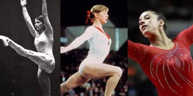 奥运体操服的时尚进化