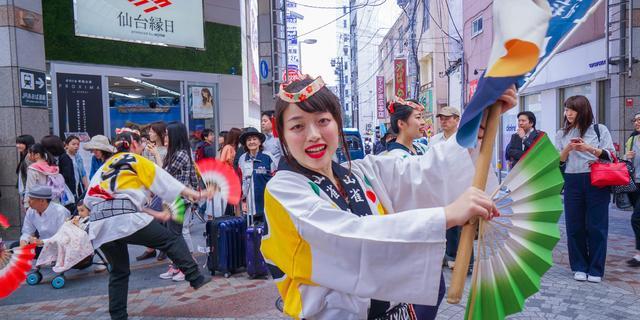 偶遇日本仙台青叶祭