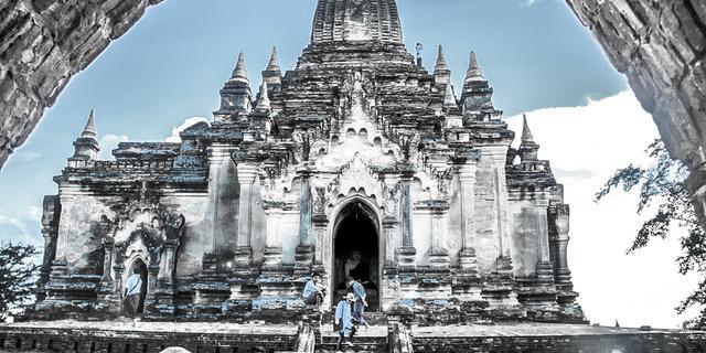 地震之前的缅甸蒲甘