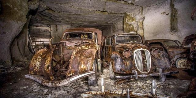 暗藏在地下70的老爷车