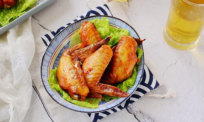 【酱香微波鸡翅】5分钟懒人菜,家里宝贝吃到嗨