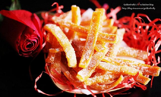 橙子皮别丢,魔法变出超美味蜜渍橙皮糖