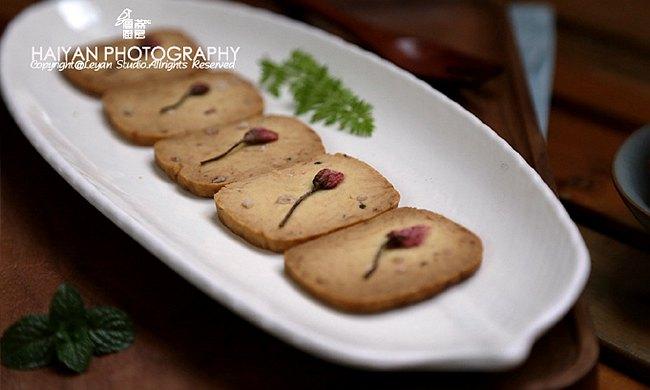 海盐樱花饼干:春日里的小心思烘焙茶点