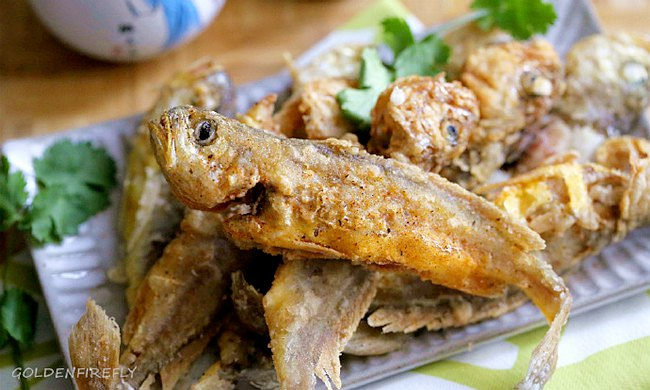 香脆小黃魚,入口嫩酥,絕對是下酒配飯的絕妙好菜