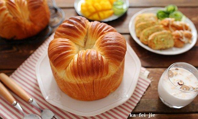 毛线球面包:网红面包这样搭早餐美味低脂营养高