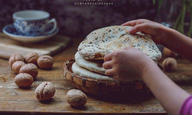 《核桃发面饼》核桃怎么做面食