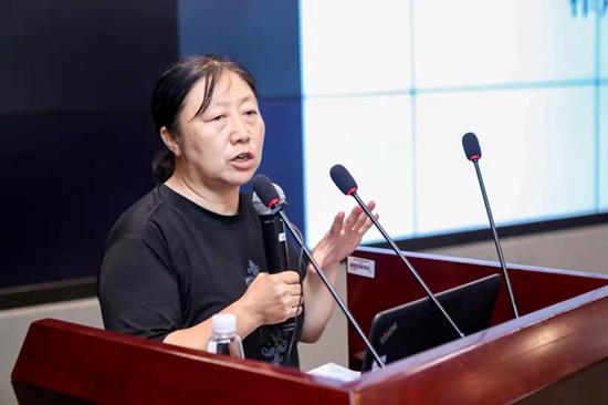 中国学前教育研究会秘书长廖丽英