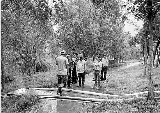杭州1工地从河道抽100吨河水 将面临6.6万元处罚(图)