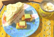 杭州警察爸爸做创意早餐