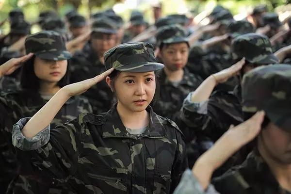 浙江颜值最高的新生军训