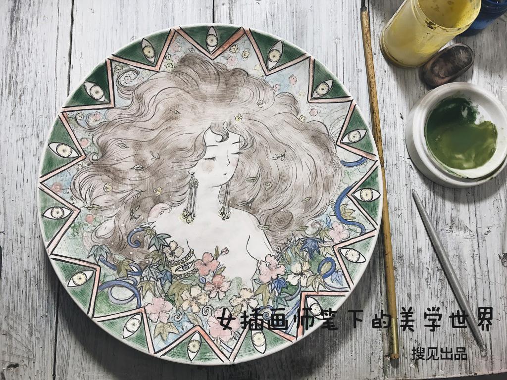 【第134期】女插画师笔下的美学世界