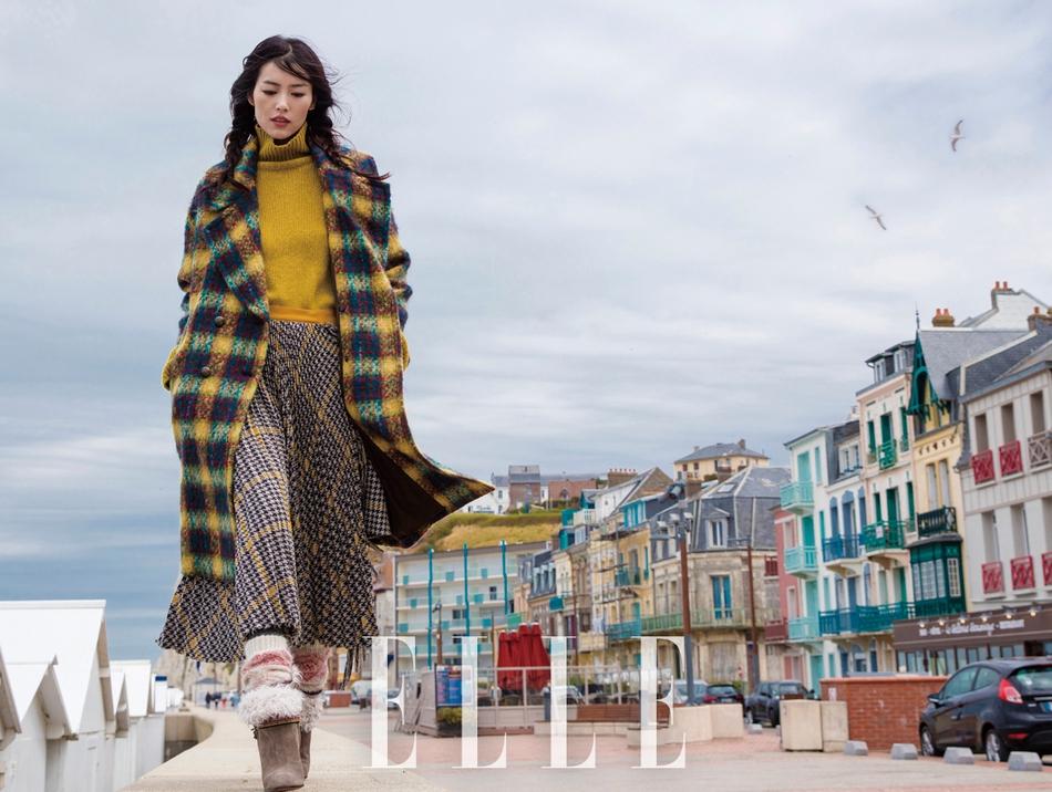 刘雯最新时尚大片 可温婉可冷艳表现力十足