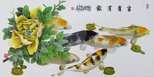 赠嘉宾.有多幅剪纸作品在全国获奖,并有多幅剪纸作品被中国农业