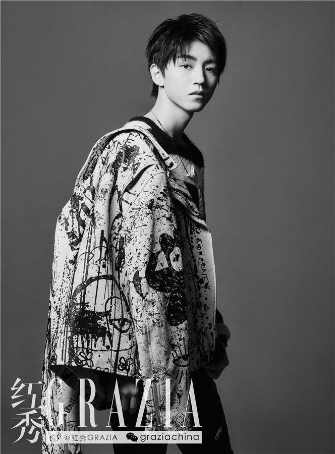 封面大片曝光,为今年王俊凯登上《时尚芭莎》金九、《Vogue Me》
