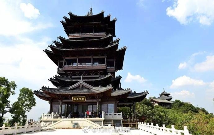杭州新地标望宸阁10月下旬免费开放 顶层观景看遍杭城