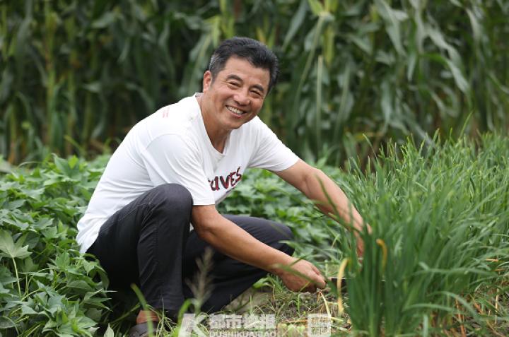 杭州好房东 他的租客一年四季都能吃上免费时令蔬菜