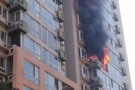 杭州1小区群租房起火35岁男子身亡 两名女租客逃出