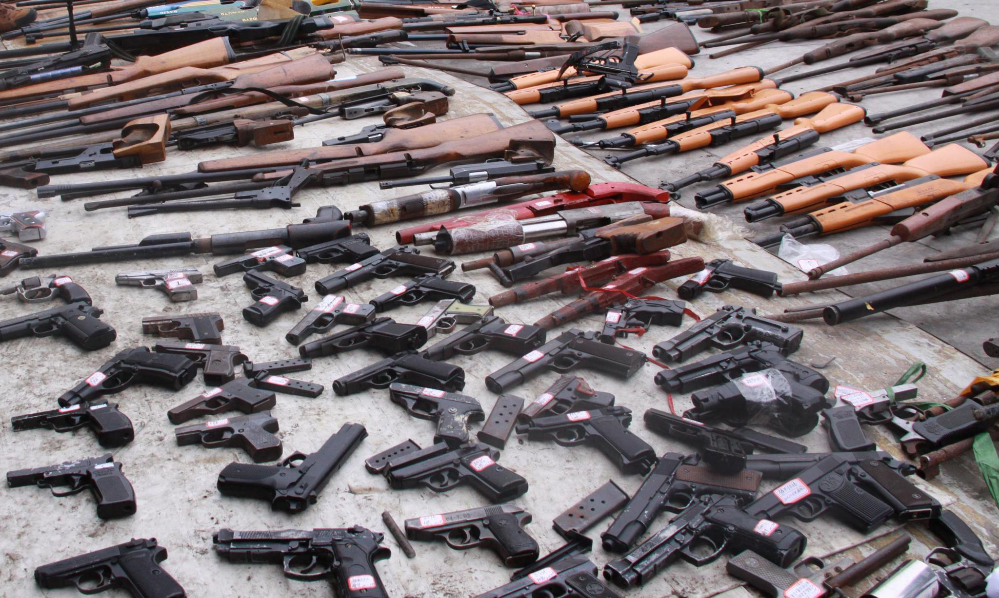 杭州警方通告:非法枪支弹药 6月底前上交从轻处罚