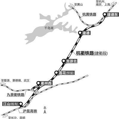 杭州又将多一条高铁!