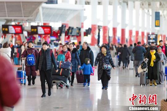 杭州机场春运客流连创新高。 杭州机场供图