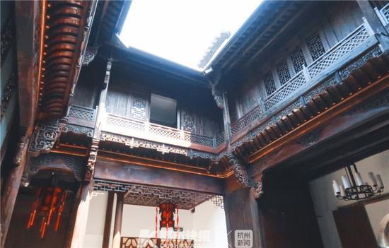 金源昌客栈中庭